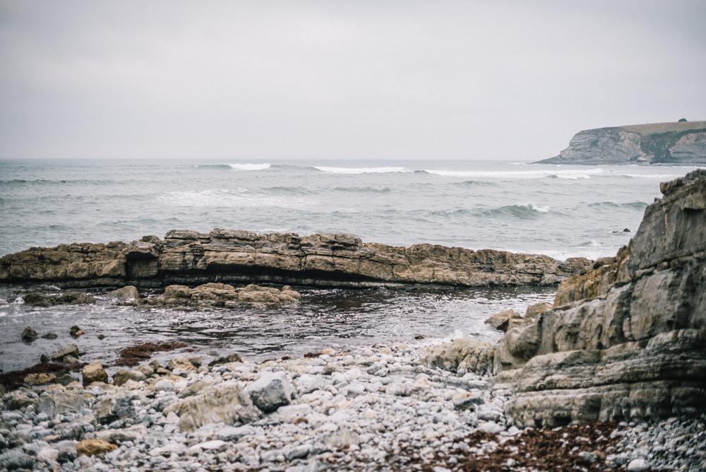 Sesión embarazo en la playa, Asturias