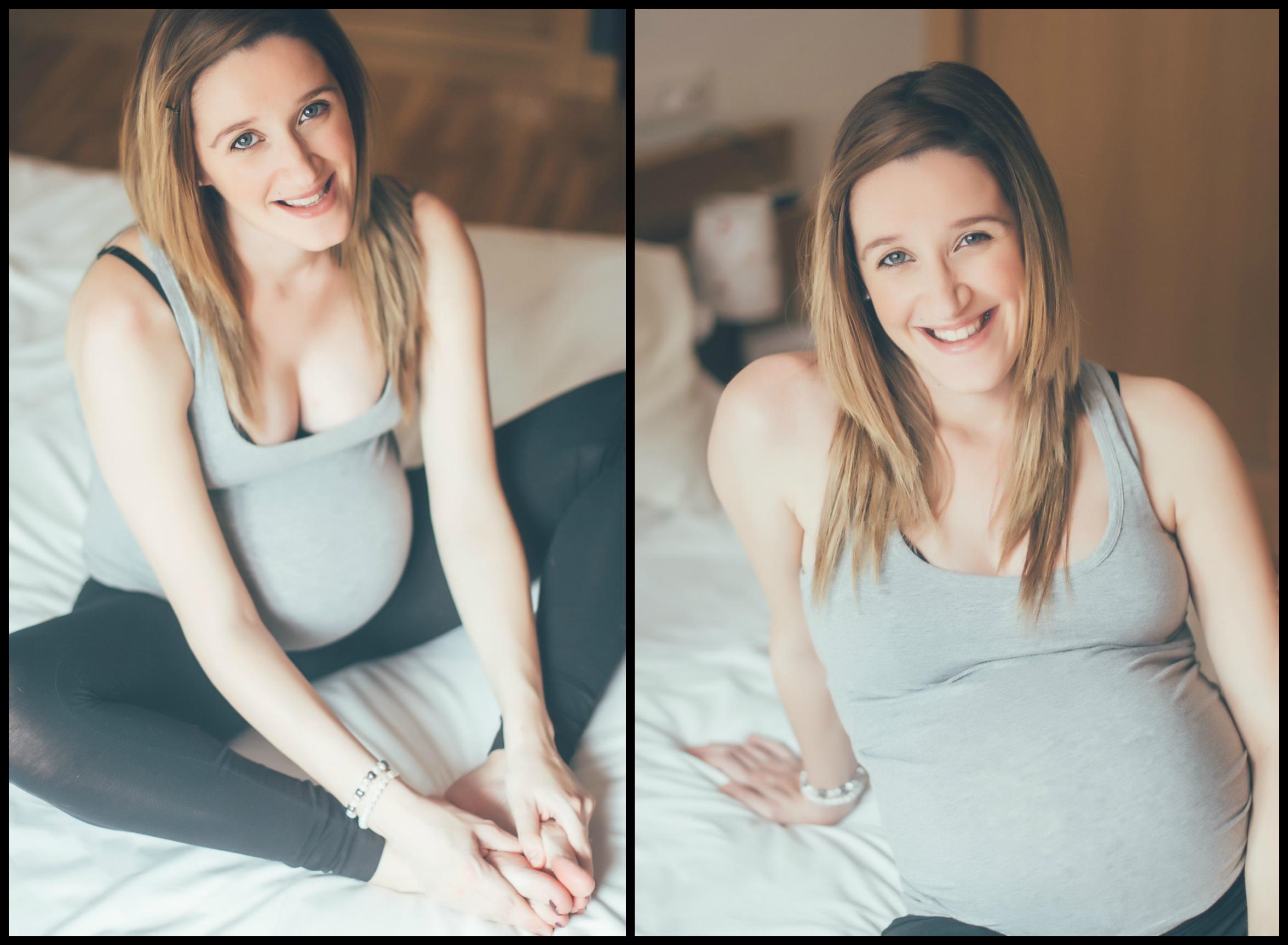 Lore, sesion embarazo, Asturias