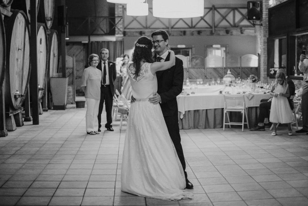 Baile, novios, boda