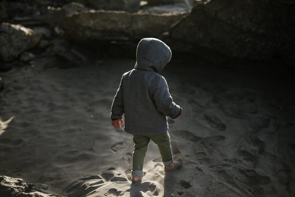 Sesión infantil en la playa, Asturias. Lady Selva Fotografía