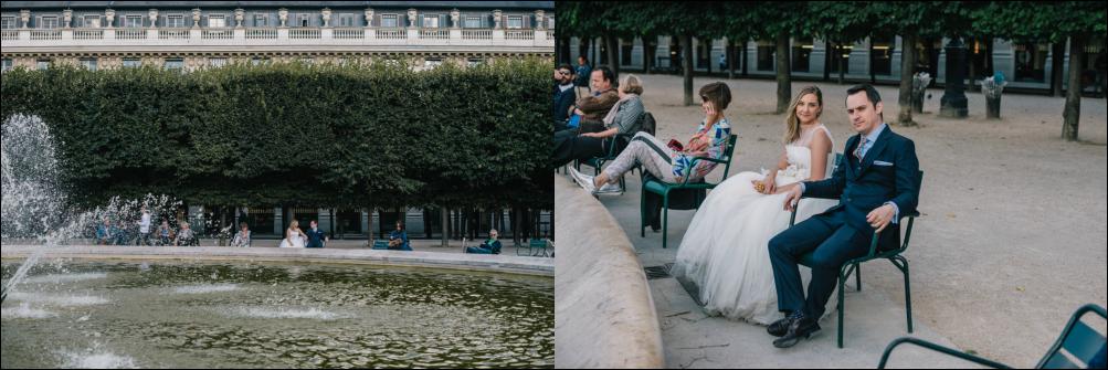 postboda en parís, Palais-royal