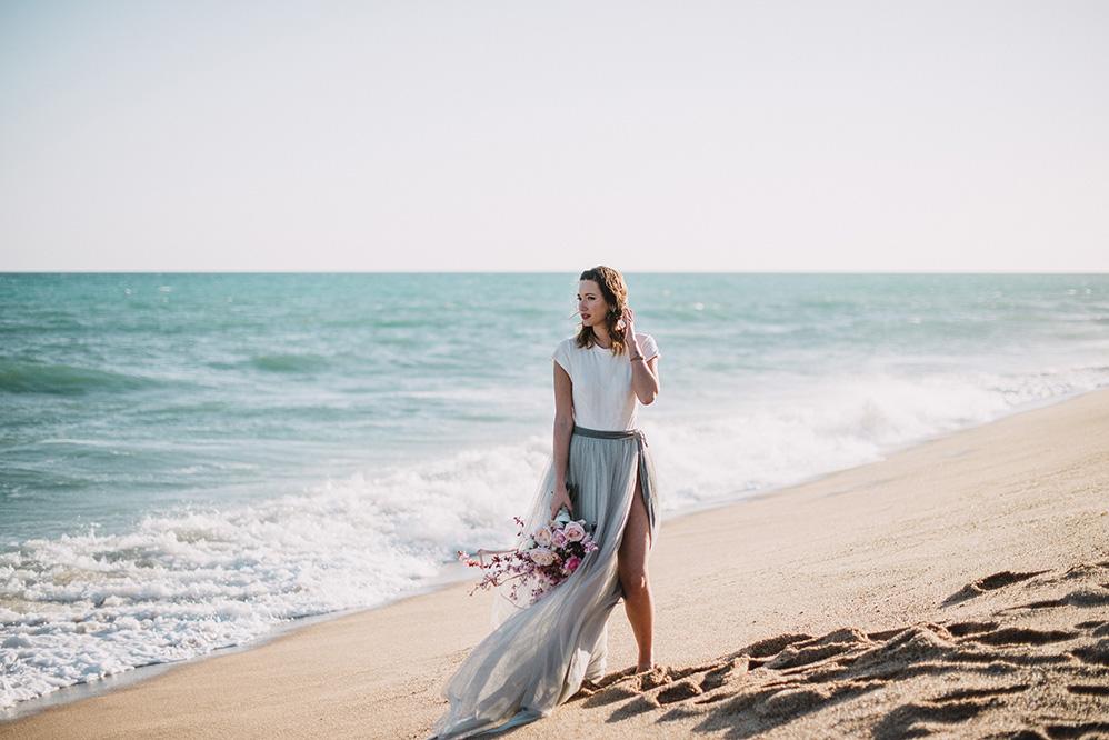 Amor en la playa, boda natural, editorial. Lady Selva Fotografia
